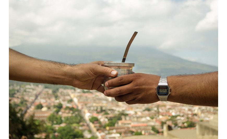 Where is yerba mate consumed?